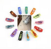 nano maus großhandel-Neueste Erstaunliche Mini Tier Spielzeug Spaß Haustier Spielzeug Roboter Insekt Praktische Witze Elektronische Maus Haustier Hund Katze Spielzeug Nano Spaß Bug