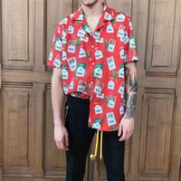 Wholesale mens beach shirt xl - Mens New Hawaii Shirt Beach Floral Shirt Tropical Seaside Hawaiian Shirt Summer Fashion Quick Dry Camisas Short Sleeve Casual Print Shirts