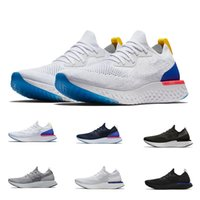 Wholesale comfortable running shoes - 2018 Top Quality Epic React Instant Go Fly Breath Comfortable Sport Best Boost Mens Women Running Shoes For Sale Athletic Sneakers