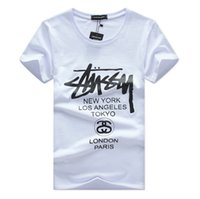top londres t shirts achat en gros de-T-shirts à manches courtes T-shirts à manches courtes HIPHOP de London Paris
