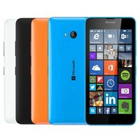Wholesale microsoft accessories - Refurbished Original Nokia Microsoft Lumia 640 Windows Phone 5.0 inch Quad Core 1GB RAM 8GB ROM 8MP Camera 4G LTE Smart Phone DHL 5pcs