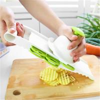 patates sebze soyucu toptan satış-Mutfak Sebze Meyve ve Sebze Dilimleyici 5 1 Çok Fonksiyonlu Patates Mandolin Soyucu Yeşil Ev Mutfak Malzemeleri Ücretsiz Kargo