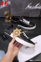 Wholesale ladies shoes size 44 - High Quality DOLCE & GABBANA LADIES CURRENT PORTOFINO LOVE SNEAKERS LEATHER SHOES D.G Sneakers Running Shoes With Original Box Size 38-44