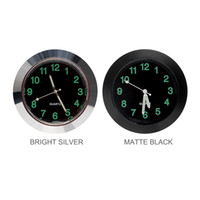 Wholesale auto clocks car for sale - Car Clock Ornaments Mechanics Quartz Mini Car Air Vent Clip Clock Watch Car Styling Auto Decoration Black Silver