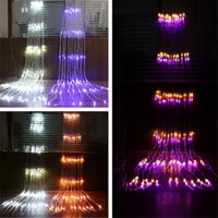 Wholesale meteor shower strings for sale - Group buy 3x3M LED Waterfall Waterproof Meteor Shower Rain LED String Lights For Holiday Light Wedding Xmas Christimas Party Decor
