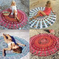 Wholesale geometric style scarves - Bulk Lots 39 Styles 59*59'' Chiffon Geometric Printed Beach Towel Table Blanket Women Scarves Tapestry Light Bandana Towels Hijab Home Decor