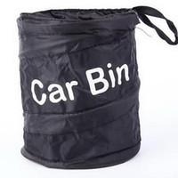 ingrosso macchine di lattine di rifiuti-2019 Car Garbage Can protable Trash poly Auto Viaggio Lettiera pieghevole Accessori universali Cestino rifiuti bidoni