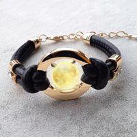 ingrosso gioielli in pelle fatti a mano-Nuovi accessori moda fatti a mano retrò in pelle PU braccialetto da uomo moda donna braccialetto uomini e donne