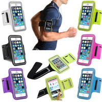 Wholesale gym cell phone holder for sale - Group buy Water Resistant Cell Phone Armband case Sports Running Gym Case Waterproof Armband Holder Pounch For iPhone case Bag Huawei Samsung