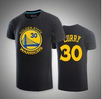 basketball design achat en gros de-Été pour Stephen Curry T shirt marque O-cou Cotoon design t-shirt de basket-ball KD manches courtes occasionnel t-shirts Plus la taille Tops