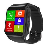 wifi del teléfono ip68 al por mayor-Kingwear KW06 3G Móvil reloj de Wifi GPS SIM monitor de ritmo cardíaco IP68 a prueba de agua Android5.1 SmartWatch Hombres 512 + 8 GB