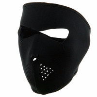 Wholesale bicycle winter mask resale online - Winter Exercise Mask Cycling Full Face Ski Mask Windproof Outdoor Bicycle Bike Running Black Hot Sale