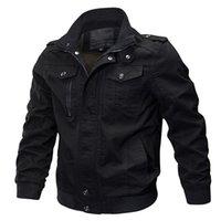 ingrosso giacche invernali in stile militare-Giacche da uomo in tessuto militare aeronautico militare di marca autunno-inverno