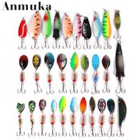 Wholesale fishing lure box for sale - 30pcs set Mini Fishing Lures Baits With Hook Design Practical Metal Fishing Bass For Outdoor Sports Sequins Equipment Without Box gf ZZ