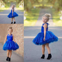 Wholesale little girls occasion dresses for sale - Summer Lovely Baby Flower Girl Dresses Princess Pageant Lace Appliques Beaded Little Girls Special Occasion Dresses