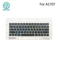 """Wholesale Macbook Keyboard Uk - A1707 Keyboard Keys US UK German Japan Koarea For Macbook Pro Retina 13"""" A1707 Keycap Keys Set Key cap 2016 2017 Layout"""
