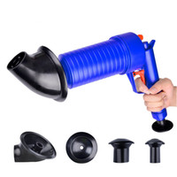 Wholesale toilet drain cleaners for sale - High Pressure Toilets Air Drain Blaster Cleaner Plastic Drain Clogged Pipes Pumps For Pipe Dredge Practical Powerful Tools nt ZZ