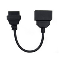 Wholesale Obd2 Adapter Usb - LINKOBD OBD2 OBDII 22Pin For Toyota OBD2 Diagnostic Cable to OBDII 16Pin Female Connector Adapter Cable
