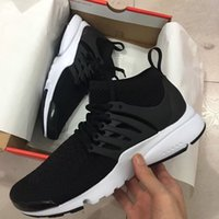Wholesale Mens Leather Casual Boots - 2018 High Men And Women casual Shoes Mens Training Womens Sports Shoes BR QS Breathe Black White Walking Boot
