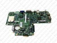 материнские платы inspiron оптовых-CN-0UW953 for inspiron 1501 laptop motherboard AMD DDR2 Free Shipping 100% test ok