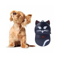 ingrosso schede sd utilizzate-Lovely Cat Design Lettore MP3 Mini Portable Clip Music MP3 Player Utilizzato come lettore di schede Micro SD / TF Supporto 32GB SD Card # ORMK06