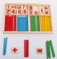 Wholesale Plastic Nurse - Puzzle educational pine drawing board learning box Nurse brain computing arithmetic arithmetic toy YZWJ005
