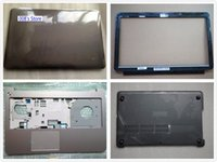 Wholesale Touchpad Cover Case - NEW Laptop LCD TOP Back Front Bezel Palmrest Upper Bottom Case Cover For Lenovo IdeaPad U510 With Touchpad AP0SK000D00