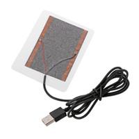 ingrosso riscaldatori a mano usb-Nuovi Gadget USB Scaldamani USB Riscaldamento per scarpe Guanti Mouse Pad Riscaldatore