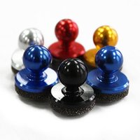 mini pad mobile phone NZ - Mini Game Joystick Mobile Phone Physical Fling Joystick Touch Screen Rocker For iPhone4 Pads HCT Samsung Smart Phones