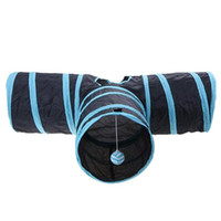 Wholesale tunnel tube online - new hot Foldabe Pet Cat Tunnel Indoor Outdoor Pet Cats Training Toys for Cat Kitten Rabbit Animals Play Tunnel Tubes Holes