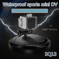 Wholesale wireless ip camera hd ir online - New Waterproof IR Night Version HD P Mini Camera SQ13 WiFi Wireless Sport DV Digital Video Recorder IP Mini Camcorder