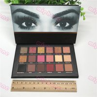 Wholesale pc palette for sale - Group buy Top quality Colors Rose Gold Textured Eyeshadow Palette Matte Shimmer Eye shadow Beauty Palette Brand Cosmetics ePacket shipping