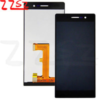 Wholesale original huawei ascend p7 for sale - Group buy Original New Brand Best Quality For Huawei Ascend P7 LCD Display Touch Screen With Digitizer Assembly white and black with years warranty