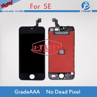Wholesale pixel repair lcd - Grade AAAAA For iPhone 5S 5 5C SE LCD Display Digiitizer Screen Assembly Repair Part No Dead Pixels