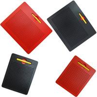aprenda pad venda por atacado-Magnetic Drawing Board Magnet pad Stylus Esferas Magnéticas Placas de Escrita Tablet Beads Ímã Pad Crianças Brinquedos Brinquedos de Aprendizagem Educação C5576