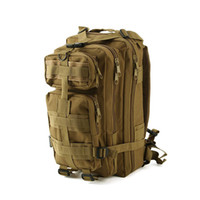 sacos de senderismo del ejército al por mayor-Mochilas tácticas mochila de gimnasio hombro hombro impermeable ejército mochila Deportes al aire libre Camping para senderismo Pesca Caza bolsas de mensajero 1000D