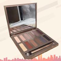 palette grundlagen farbe lidschatten großhandel-Hot Make up ULTIMATE BASICS matte Farben Alle Matte 12-Farben-Palette rauchige EyeShadow NK-Palette