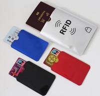ingrosso scudo della carta di credito-9 Modelli Nuove Schede di sicurezza Custodie per schermatura RFID Borsa per carta di credito con identificazione magnetica IC Supporto antifurto Identità senza contatto Protezione per blocco NFC