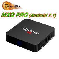 hd smart tv verkauf großhandel-Fabrik Verkauf MXQ Pro 4 Karat Smart Android 7.1 TV Box Rockchip RK3229 Quad Core Google Set Top Box Media Player