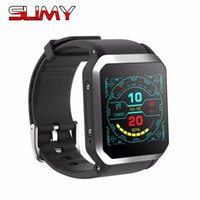 ip68 telefone wifi venda por atacado-Viscoso relógio inteligente Android 5.1 3G WIFI GPS Google Play Heart Rate Monitor Ligação Android Phone Smartwatch IP68 Waterproof
