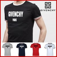 Wholesale korean style casual clothing online - 2018 hot new fashion brand style Summer clothes men s tops round neck casual cotton T shirt trend Korean Slim men s sportswear short sleeve