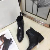 botas de gama alta al por mayor-2018 nuevas botas de gama alta, pantalla de lujo de gama alta, artefacto de moda de moda con alta 5.5CM Black Size 35-40 + box