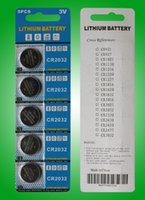 Wholesale Super quality CR2032 button cell batteries V lithium coin cells for watches LED lights toys scales