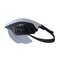 Wholesale 2018 New Augmented Reality AR Glasses Degree Virtual Reality D Gaming Helmet Device for iOS Android Phone PK VR