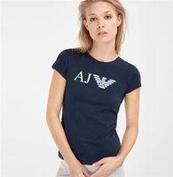 yarım kollu ince gömlekler toptan satış-Kadın T-Shirt Kısa Kollu T-Shirt Vücut Bayan Baskı Büyük Boy Elmas Ince Yaz Yeni Kore En Yarım Kollu Kol Nefes