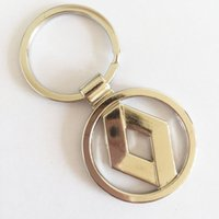 Wholesale Keychain Nissan - 3D Metal Car Logo Keychain Key Chain Keyring Key Ring For Volkswagen VW Volvo Toyota Nissan Ford