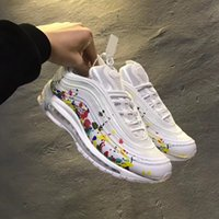 Wholesale Chinese Canvas - 2018 Maxs 97 PRM CNY Chinese New Year White Multicolor Mens Women Running Shoes Fashion Max97 Casual Sports Sneakers With Box size 36-45