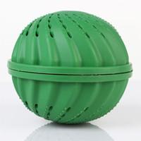 bolsas de sujetador negro al por mayor-Lavandería Hogar Lavado Mágico Bola De Limpieza Para Limpieza Ropa Fresca Lavado Verde