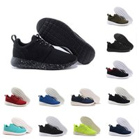 Wholesale London Blue - Wholesale 2018 New London Olympic Classic All Black White Ink Running Shoes For Men Women Sports London Olympic Womans Mens Trainers Sneaker