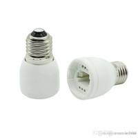adaptateur de lampe achat en gros de-Haute qualité led lampe adaptateur E27 À G24 adaptateur Conversion prise ignifuge matériau douille Livraison Gratuite
